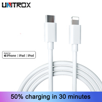 5X Type C to Light ning Cable for iPhone X XS XR 8 36W PD Fast Charging USB C Cord Data Transmission Cable for Macbook iPad iPod