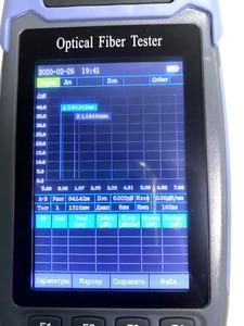 Image 5 - Ship from Ukraine Russian Menu High Accurate OTDR Mini Pro Optical Time Domain Reflectometer 1310nm and 1550nm Fiber Optic FC SC