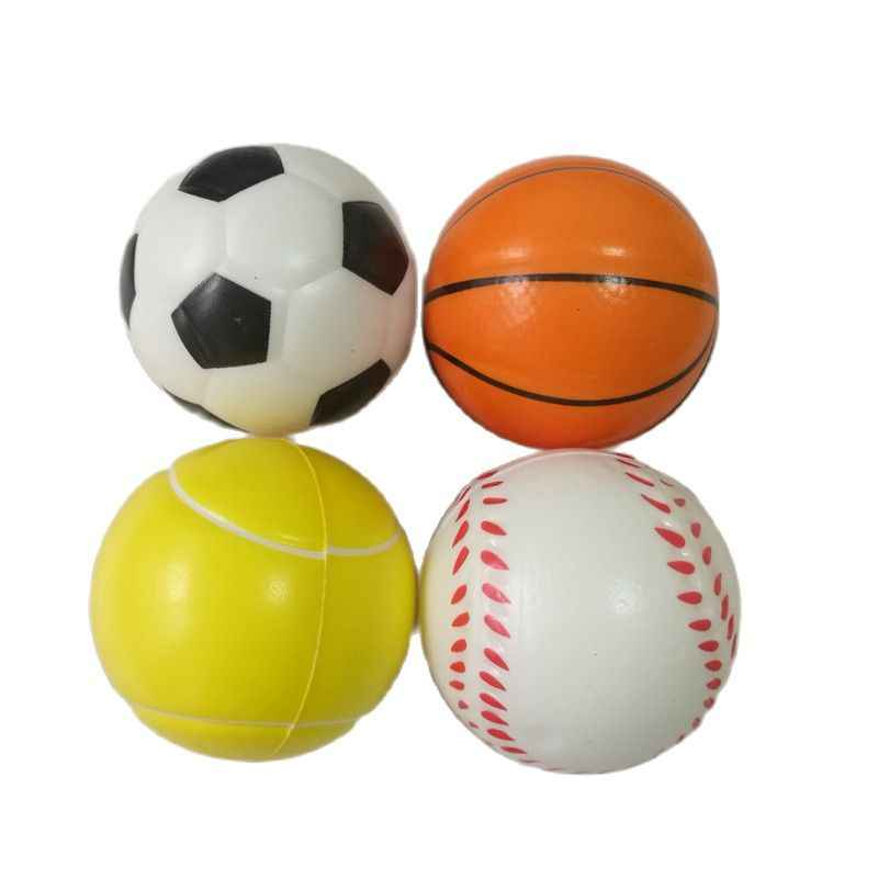 6Pcs Mini EVA Football Sports Balls Kids Indoor Outdoor Game Toy White