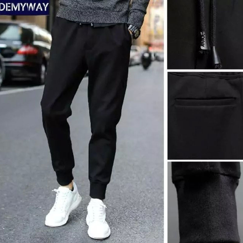 Classic Style Harem Pants Loose-Fit 180 Men Skinny Pants Ankle Banded Pants Slim Fit Sweatpants Spring And Autumn Athletic Pants