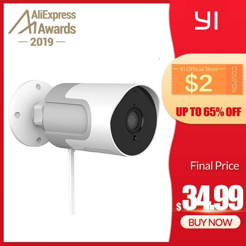 YI LoT Outdoor IP Camera Full HD 1080p SD Card Security Surveillance Camera Weatherproof Night Vision YI Cloud YI IOT APP