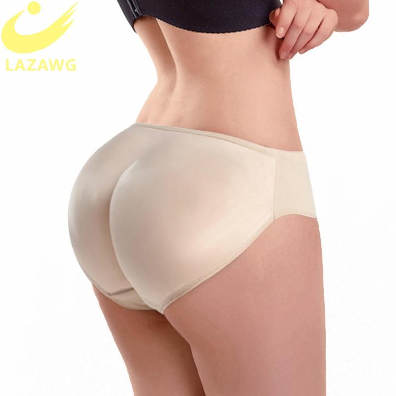 LAZAWG Booty Lifter Shaper Bum Lift Pants Buttocks Enhancer Boyshorts Briefs Panties Shapewear Padded Control Panties Shapers