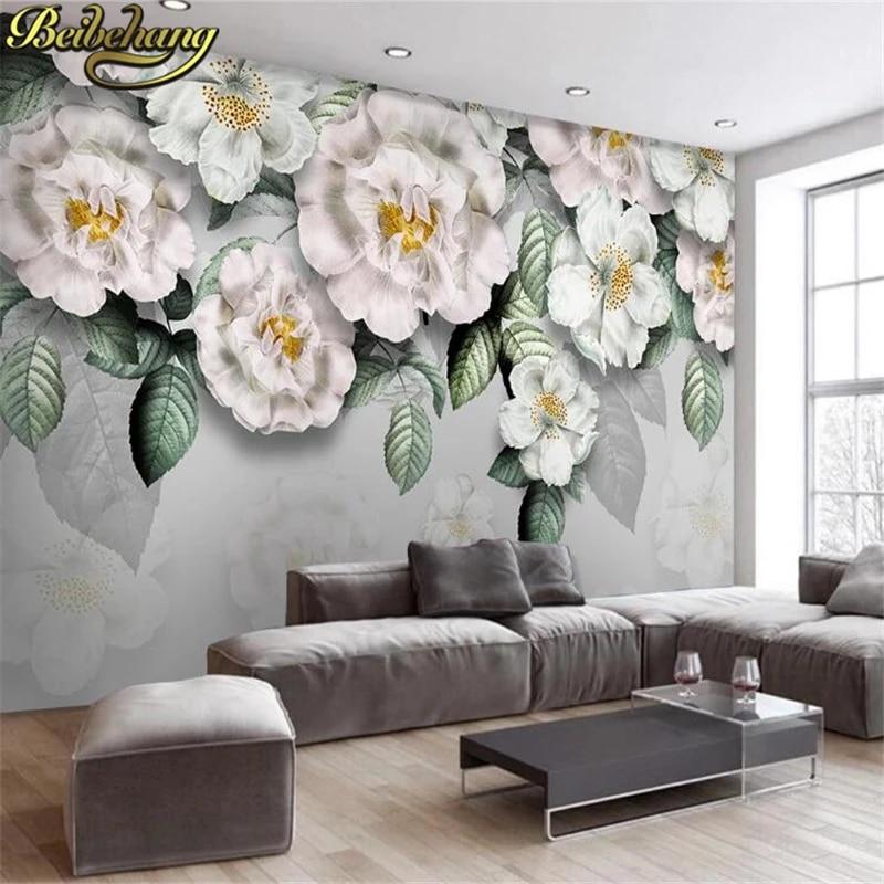 Beibehang 3d Wallpaper Home Decor Photo Background Pink Rose Petals Drop Living Room Office Large Wallcovering Mural Wall Paper Wall Paper Mural Wall Paper3d Wallpaper Aliexpress