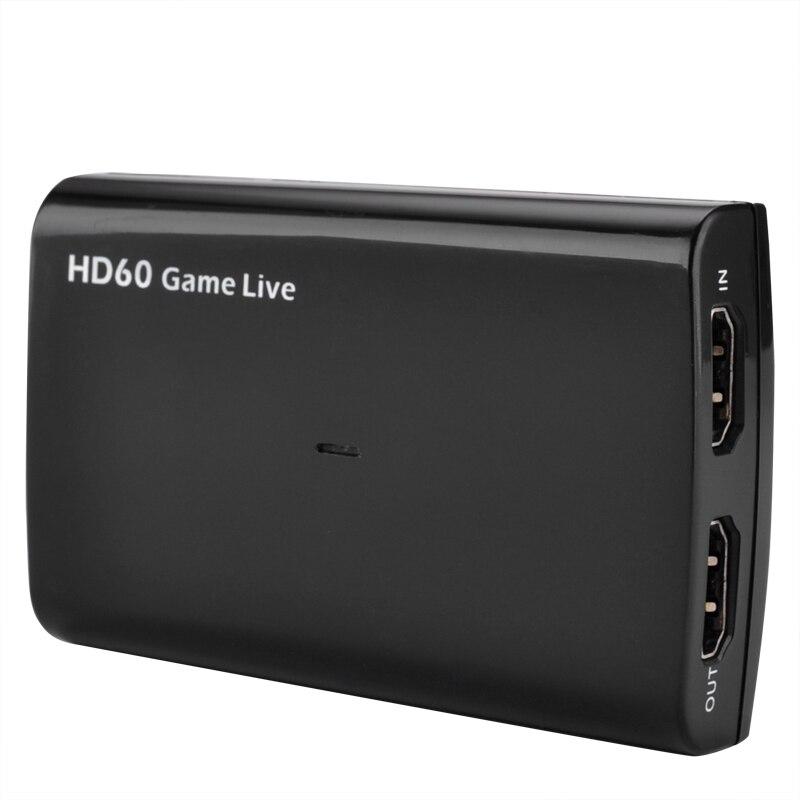 Ezcap266 USB3.0 UVC HDMI Карта видеозахвата прямая трансляция HD 60 игра прямая трансляция с микрофоном в 4 к 30fps HDMI пройти через