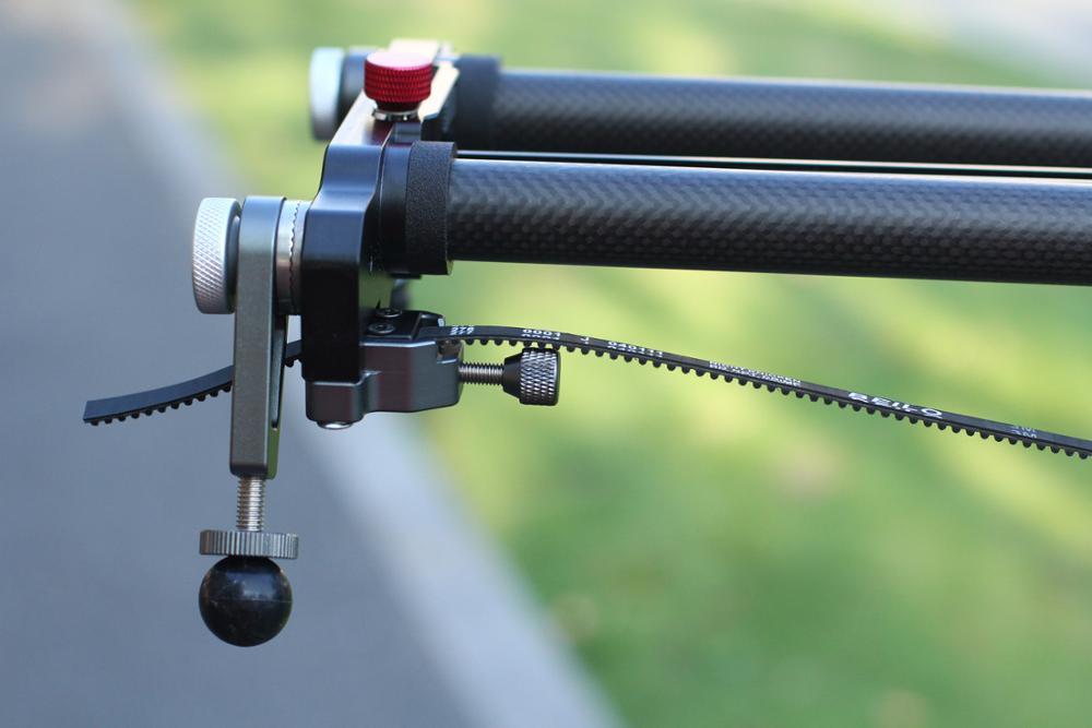 ASHANKS Bluetooth cámara de carbono deslizamiento seguimiento enfoque motorizado Control eléctrico retardo deslizador carril de la pista para la fotografía de Timelapse - 3