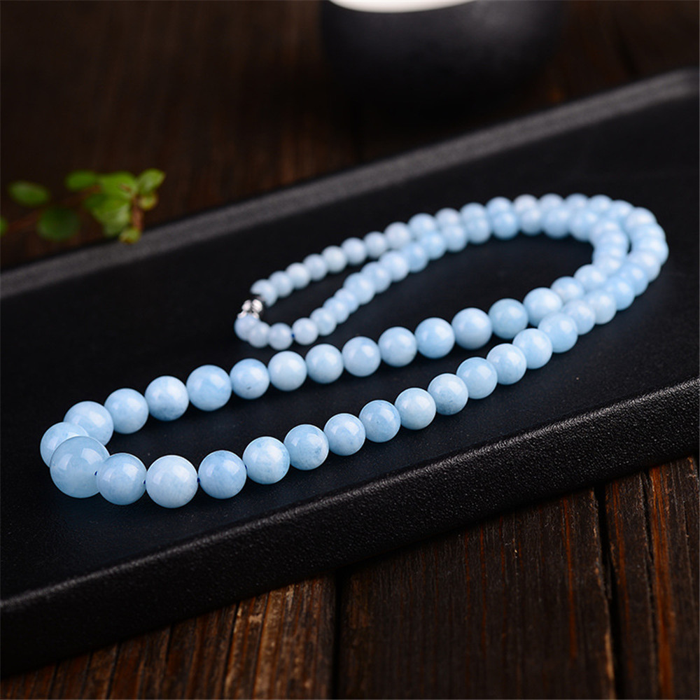 Aquamarine Necklace Chains (6)