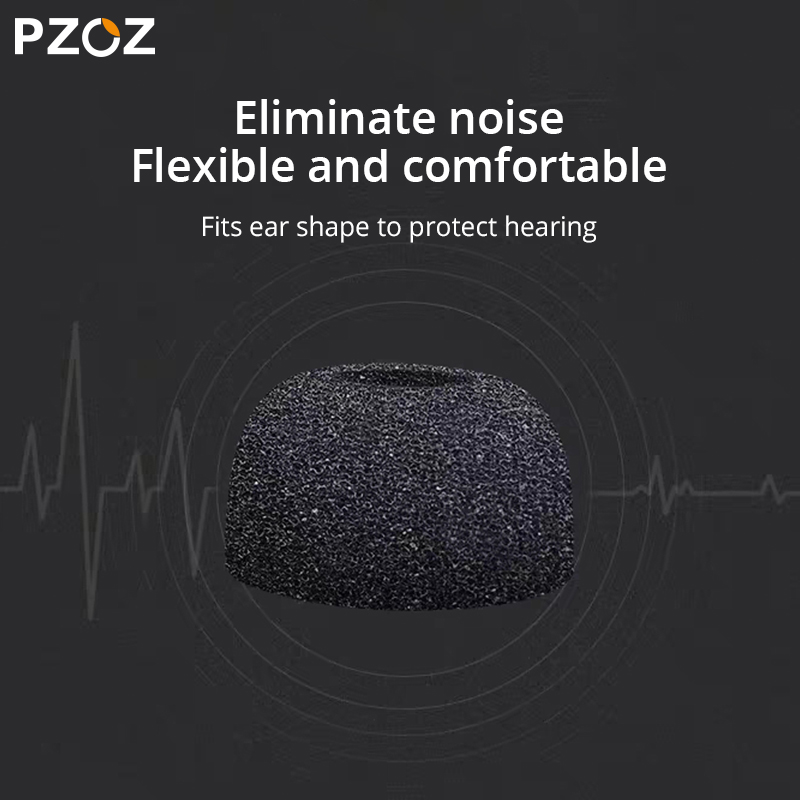 lowest price PZOZ 6Pcs For Airpods pro tips Ear Headphones Memory Foam For AirPods 3 Bluetooth Earphone Accessories Noise Reduction 4Pcs