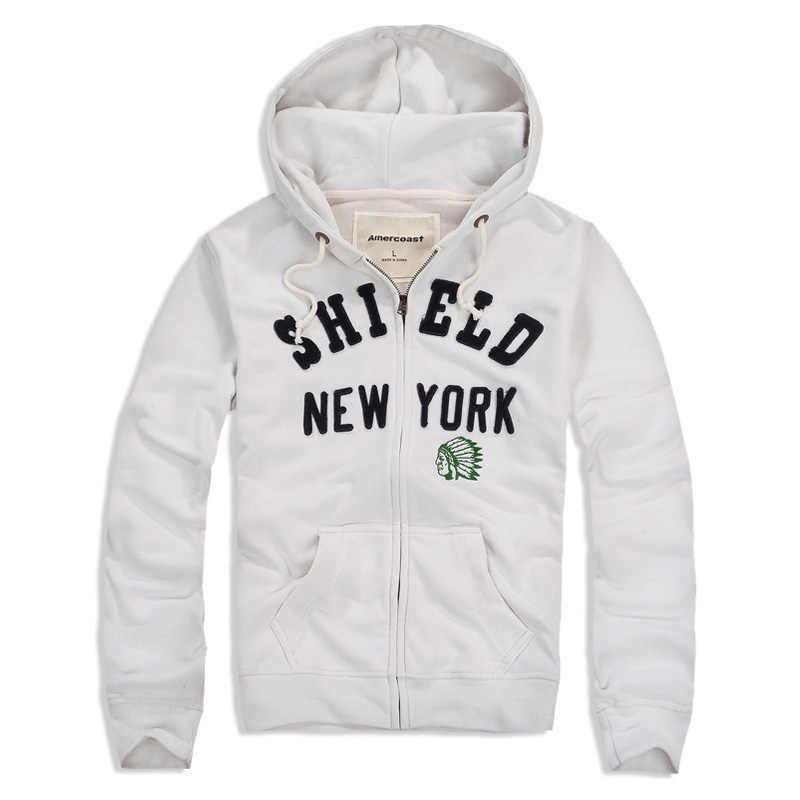 الرجال سميكة الملابس دعوى الرجال مقنعين سترة كبيرة الملابس الترفيه الرياضة معطف الدفء التهوية الشارع الشهير البيسبول