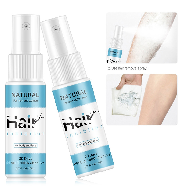 20ML Hair Removal Spray No Stimulation Gentle Quickly Remove Hair Depilatories Hair Inhibitor