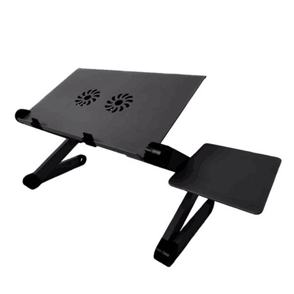 Folding Laptop Table Computer Desk Bed Serving Tray Portable Mini Picnic Desk Notebook Hand Stand Reading Holder With Mouse Pad
