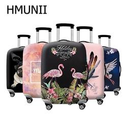 Hmunii novo mais grosso viagem mala de bagagem capa protetora para mala de mala aplicar a 18 suitcase 32-32 suitcase mala capa elástica perfeitamente