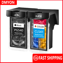 DMYON PG540 CL541 Ink Cartridge Replacement for Canon 540 541 for Pixma MG4250 MG3250 MG3255 MG3550 MG4100 MG4150 MX374 Printer pg 540 cl 541 xl ink cartridge for compatible canon pixma mx455 mx515 mx525 mx375 mx395 mx435 mg2150 mg2250 mg3150 mg3250 mg3550