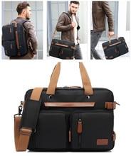Men tote bags 15.6 / 17.3 inch Laptop Backpack Business Bag male cross body shoulder business bags for men