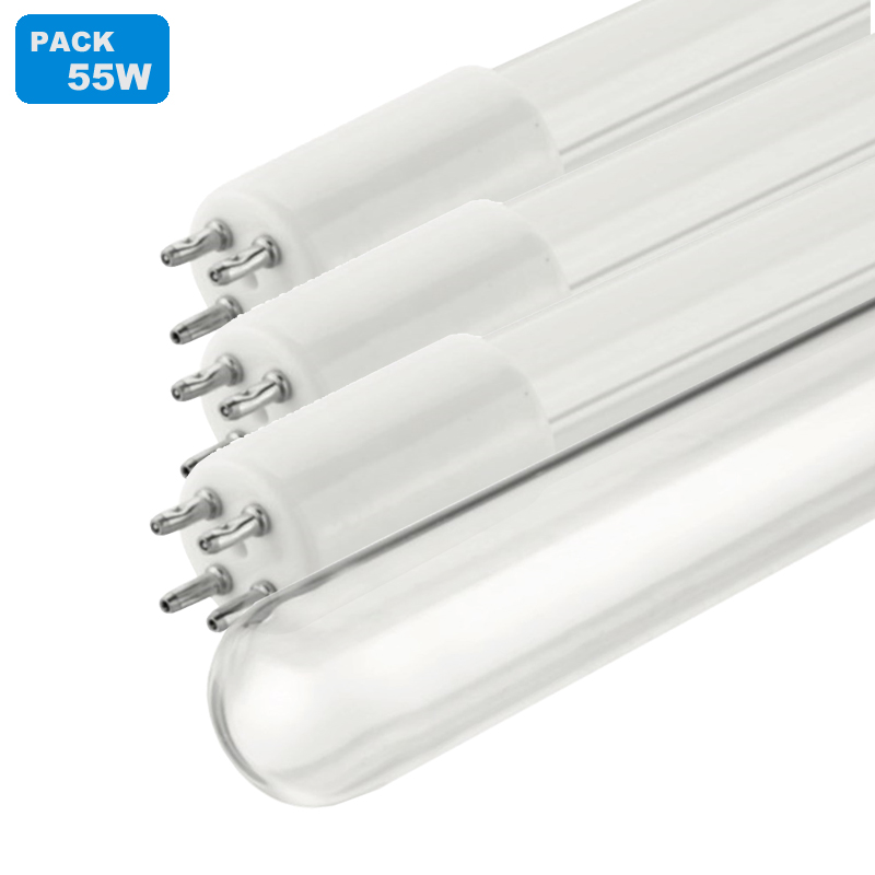 55W UV Lamp Packs Replacement To 12gpm UV Disinfection Water Filter
