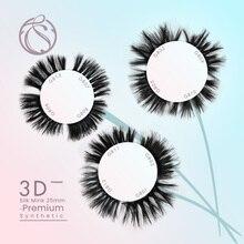 25mm Super Long Mink Eyelash Fluffy Lashes Wholesale 3D Faux Eye 70/140/210pairs