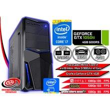 Ordenador Gamer PC Trabajo Estudio INTEL Core i7 x8 a 3.90Ghz 16GB Ram 240GB SSD + 2TB HDD Grafico GTX 1050TI 4GB +WIFI +WIn 10