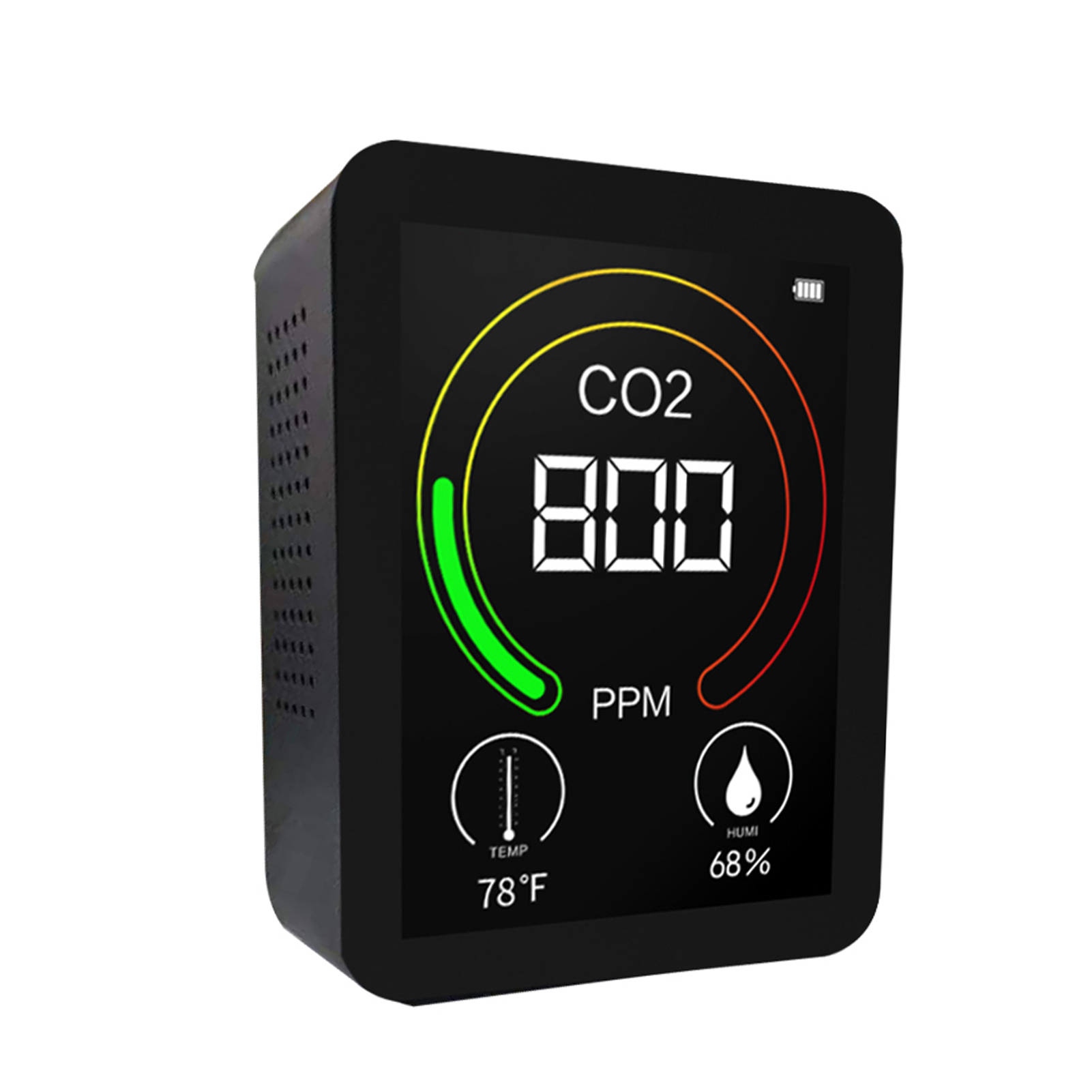 Adaptable Co2 Dector Meter Monitor Air Quality Monitor Co2 Temperature Humidity Multipurpose Detect Tools Portable Testing Instrumen Less Expensive