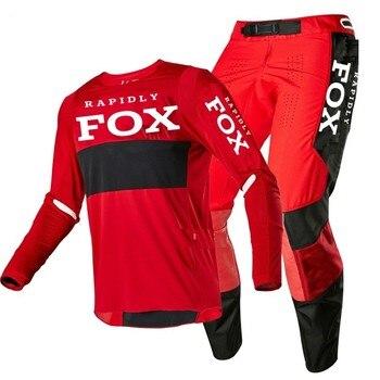 NEW 2020 RAPIDLY FOX 360 enduro motocross gear set mx jersey pants motorbike clothing mtb car racing suit Off Road equipment