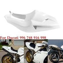 Мотоцикл Неокрашенный хвост сзади обтекатель хомут для поездок на мотоцикле Ducati 996 748 916 998 Пластик Окончательный капот обтекатели