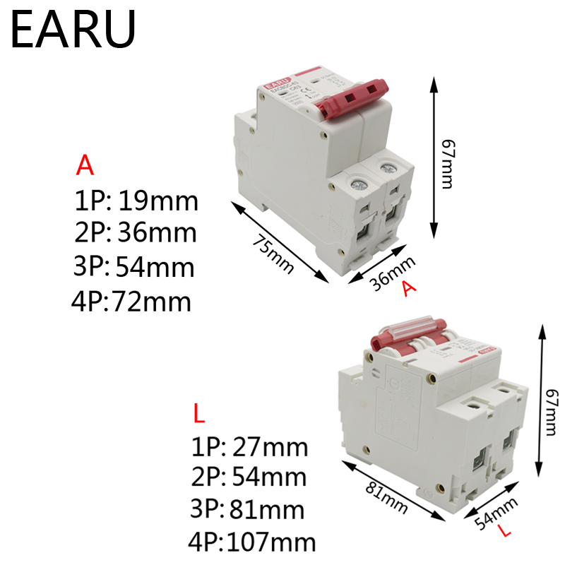 H578bda134de14f4a99a8192c525eae0cP - DC 1000V 1P 2P 3P 4P Solar Mini Circuit Breaker Overload Protection Switch6A~63A/80A 100A 125A MCB for Photovoltaic PV System