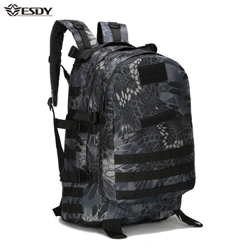 40L 3D Outdoor Sport Military Tactical climbing mountaineering Backpack Camping Hiking Trekking Rucksack Travel outdoor Bag men s 80l large hiking mountaineering backpack climbing hiking backpack camping backpack sport outdoor rucksack bag