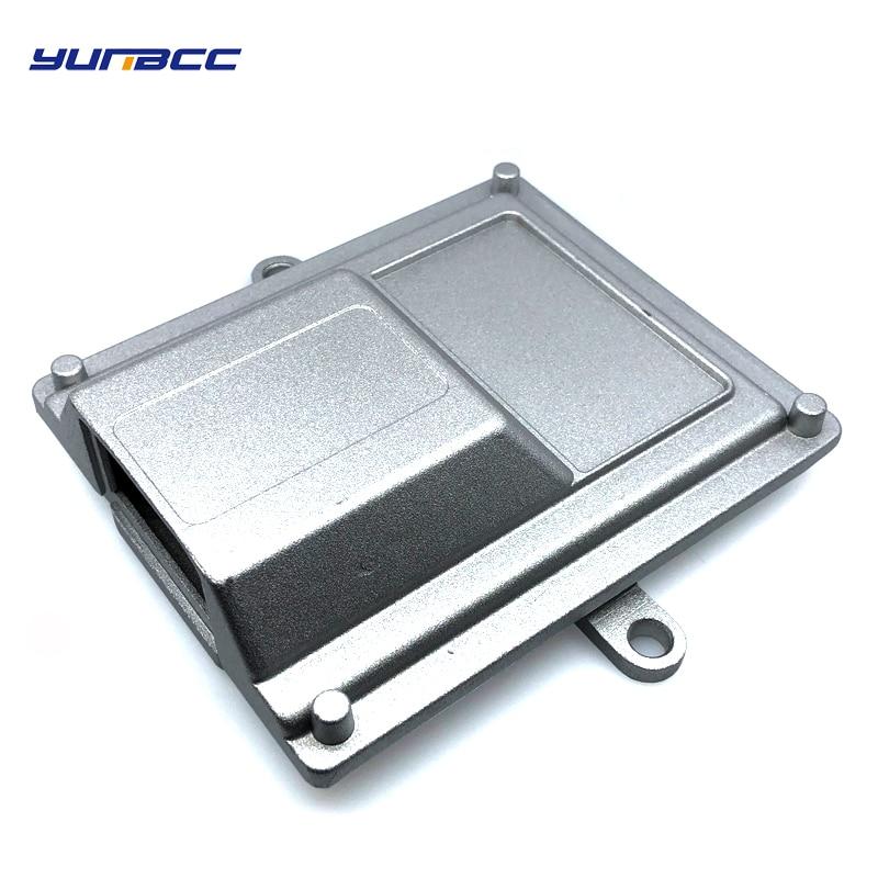 1set 24pins single hole aluminum car ecu case enclosure with fci connectors for honda Audi A6 automotive in Connectors from Lights Lighting