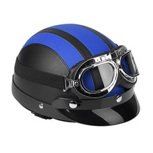 Universal Motorcycle Helmet Outdoor Scooter Synthetic Leather Scarf Open Face Half Helmet Visor Motorcycle Accessory silvering visor full face dual visor motorcycle helmet