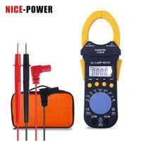 Мультиметр Nice-power цифровой профессиональный тестер Мульти-тестер измеритель напряжения тока токовый зажим Амперметр плоскогубцы с крючком