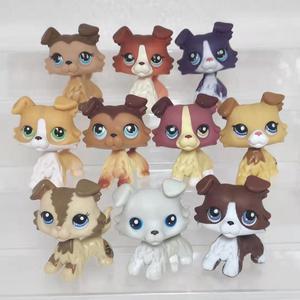 Image 3 - random cute pet shop animal lpstoys standing short hair cat dachshund collie spaniel great dane action figure toys for children