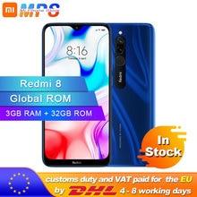 Global ROM Xiaomi Redmi 8 3GB 32GB Smartphone Snapdragon 439 Octa Core 12MP Dual Camera Mob
