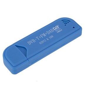 Image 4 - Mini clé de télévision Portable numérique USB 2.0 clé de télévision DVB T + DAB + FM RTL2832U Support SDR Tuner récepteur TV accessoires
