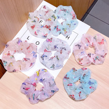 Fashion Children Kid Butterfly Elastic Hair Bands Ponytail H