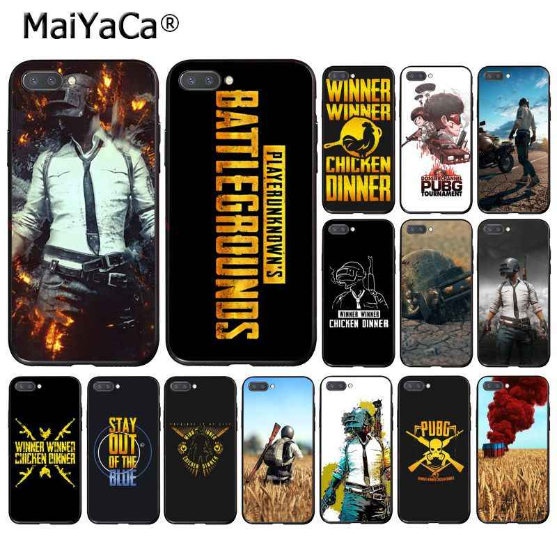 MaiYaCa Playerunknown's Battlegrounds PUBG Phone Case for Huawei Honor 8X 9 10 20 Lite 7A 8A 5A 7C 10i 20i View20
