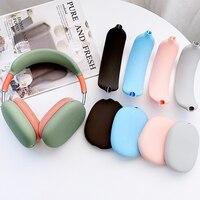 Per Airpods max custodia per auricolari custodia protettiva in silicone morbido per Apple Airpods max custodia antiurto