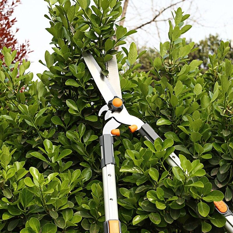 Tools : AI-ROAD New Non-Slip Garden Tree Pruning Shears Sharp Gardening Scissor Branches Flower Trimmer Cutter Fruit Knife Picker Tool