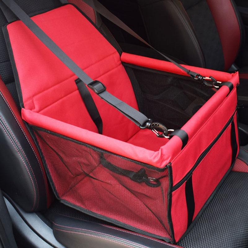 Dog Bag Basket Pet Products Pet Dog Carrier Car-Carrying Car Seat Pad Safe Carry House Cat Puppy Bag Car Travel Basket