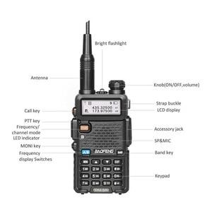 Image 2 - Baofeng Walkie Talkie Digital DM 5R DMR, 5W, VHF, UHF, 136 174/400 480MHz de largo alcance, estación de Radio bidireccional DM 5R, DM5R