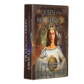 44 Pcs Oracle Queen of the Moon oracle cards Tarot l Oracle Card Board Deck Magic Essential Palying Cards For Party Game Toy felix ayuk the oracle of reason