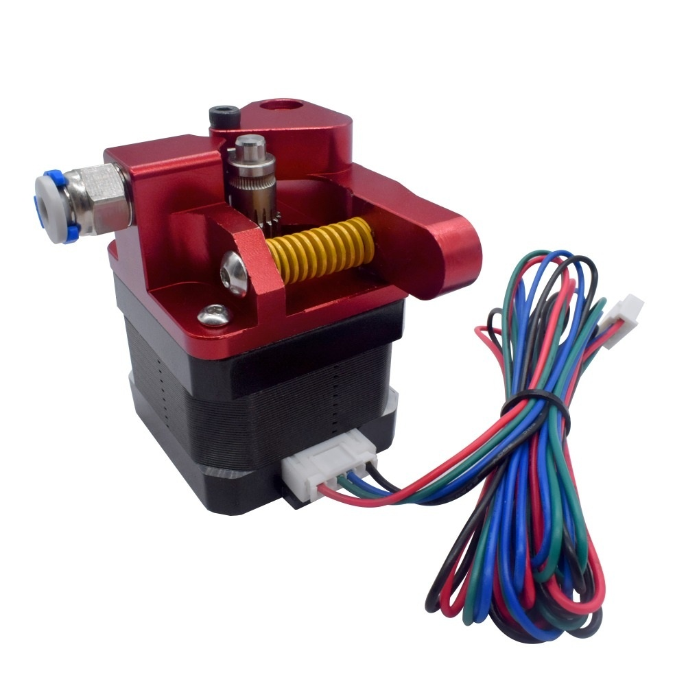 CR10S PRO Upgrade Dual Gear Mk8 Metal Extruder Kit For CR10S PRO Ender3 RepRap 1.75mm Feeder 3D Printer Double Pulley Extruder