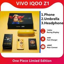 מקורי IQOO Z1 חתיכה אחת מהדורה מדיאטק 1000 בתוספת נייד טלפון 4500mAh 44W מהיר מטען 144Hz רענון שיעור טלפון סלולרי