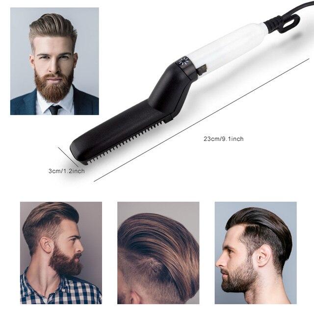 Brush Beard Straightener Hair Straighten Comb Hair Curler Quick Hair Styler Multifunctional Hair Comb 2