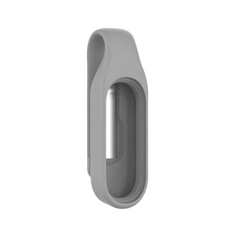 Bilek bandı için Xiaomi Mi Band 3 4 Milanese döngü kayışı akıllı bilezik tokaları Xiaomi Miband 3 4 klip yedek klip