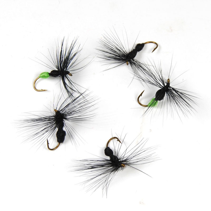 10 PCS #10 Ant Shape Fly For Trout 2