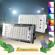 Kaguyahime Đèn Pha LED 50W 220V Đèn Đường Chống Nước IP65 Đèn Phản Quang Tập Trung Ánh Sáng Đèn Led Ngoài Trời Lạnh Chấm Trắng ánh Sáng
