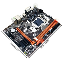 Integrated-Graphics-Card LGA1150 NVME SATA3 DDR3 Support HDD VGA HDMI M.2 B85-M2 SSD