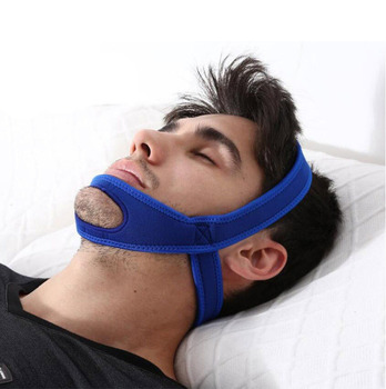 Anti Snoring Chin Strap Suitable for Sleep Apnea Treatment to Stop Snoring and get Comfortable Sleep