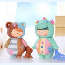 Pop Mart – série de jouets pour bébé, boîte aveugle, 12 styles, poupée aléatoire, mignon, Anime, cadeau