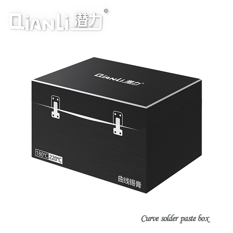 QIANLI all metal solder paste box to send solder paste repair LED soldering 180 ° C220 ° C solder paste