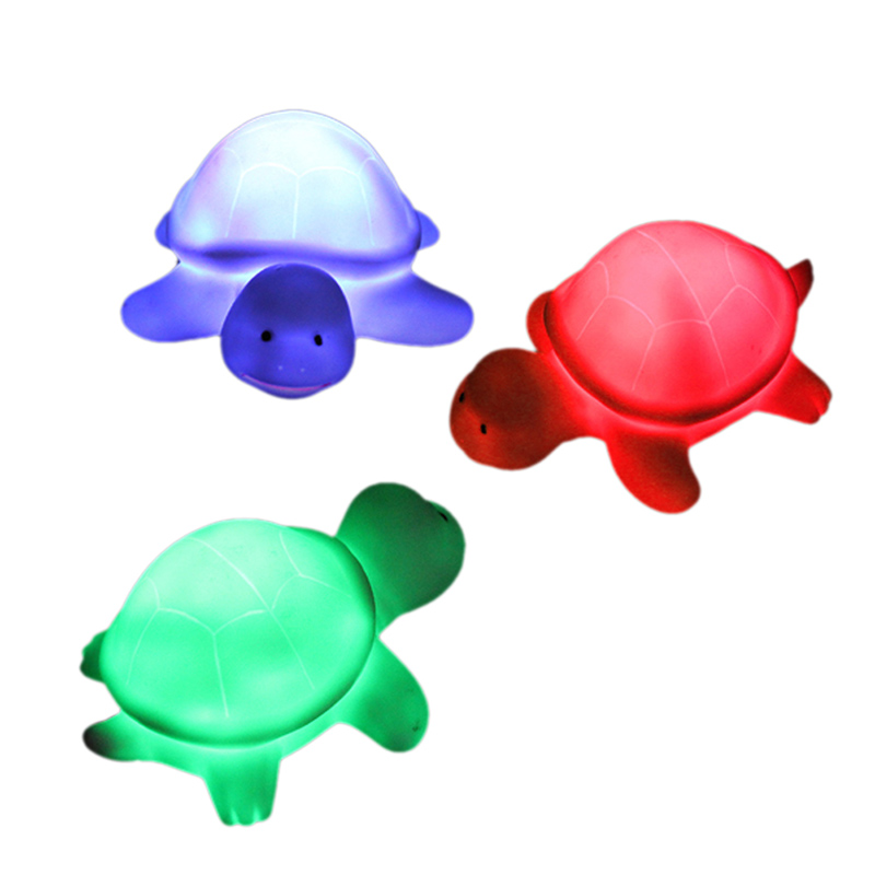 Mini LED Night Light 7 Colors Cute Turtle Party Christmas Decoration Colorful Lamp HUG-Deals