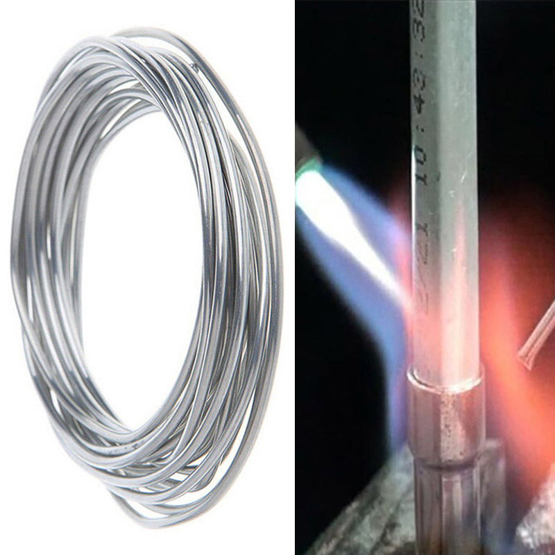 Universal Copper Aluminum Fux-cored Electrode Welding Rods Easy Melt Wire For Steel Copper Aluminum Iron Refrigerator Welding